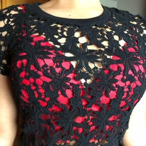 Tops - Lace black Tee